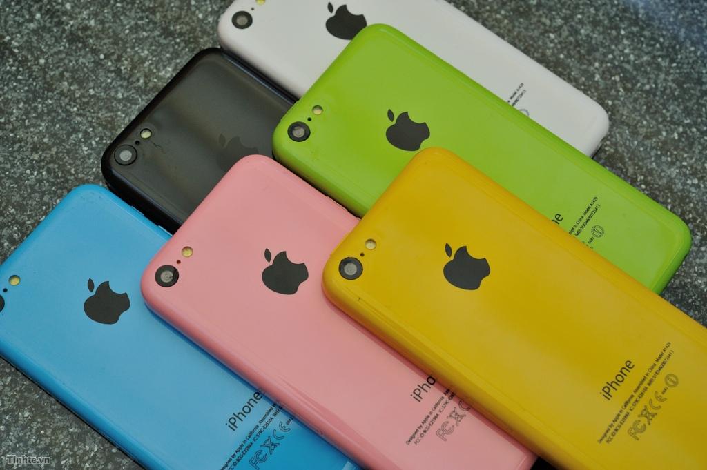 Thay vỏ Iphone 5c/ đủ màu