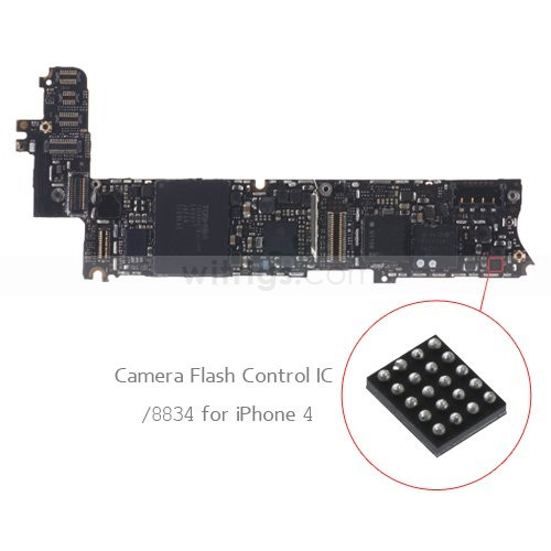 Sửa ic camera Iphone 4