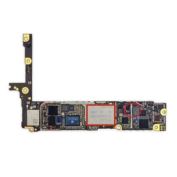 Sửa ổ cứng Iphone 6