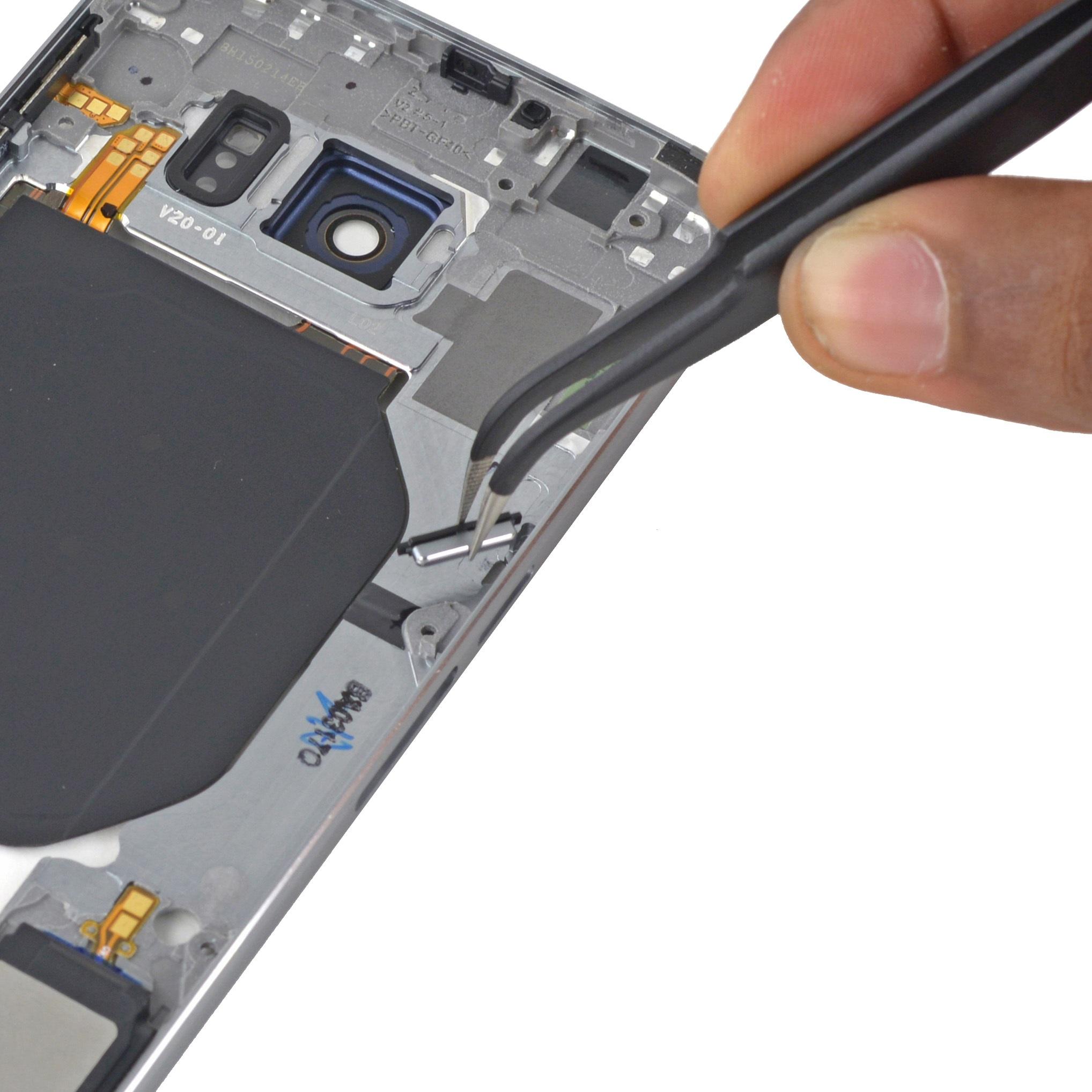 Thay nút nguồn Samsung Galaxy S7 Edge  – dây phím nguồn