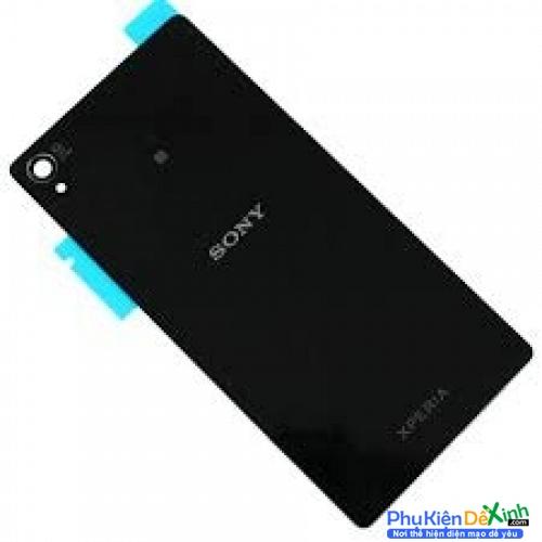 Thay nắp lưng Sony  Xperia M4 Aqua / E2306 / E2312 / E2333 / E2363 –Lưng màu đen