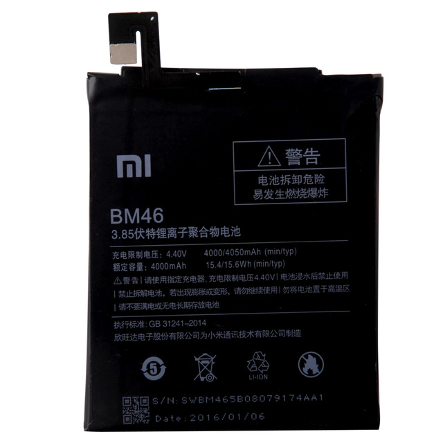 Thay pin Xiaomi redmi 5 plus