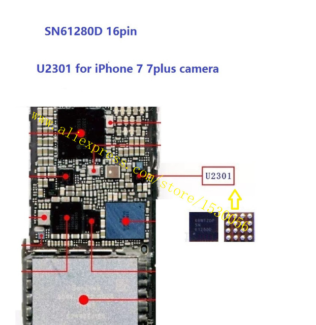 Sửa ic camera Iphone 7 plus