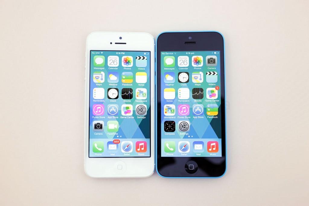 Thay camera trước iPhone 5C