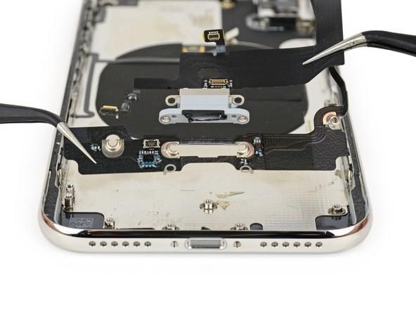 thay cáp sạc iphone x