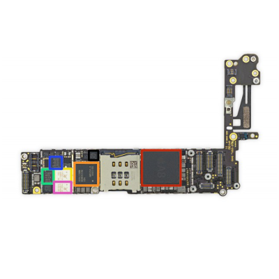 Sửa ic usb sạc Iphone 6 plus