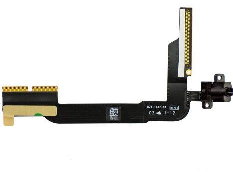 Thay cáp tai nghe iPad 5 – Dây nguồn tai nghe, màu đen, màu trắng