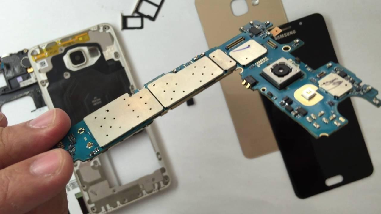 Thay cáp nguồn Samsung A7 2015