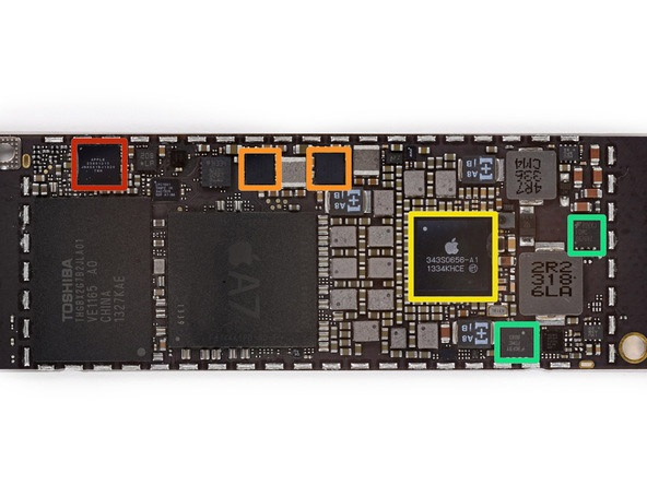 Sửa ic nguồn Ipad Mini 4