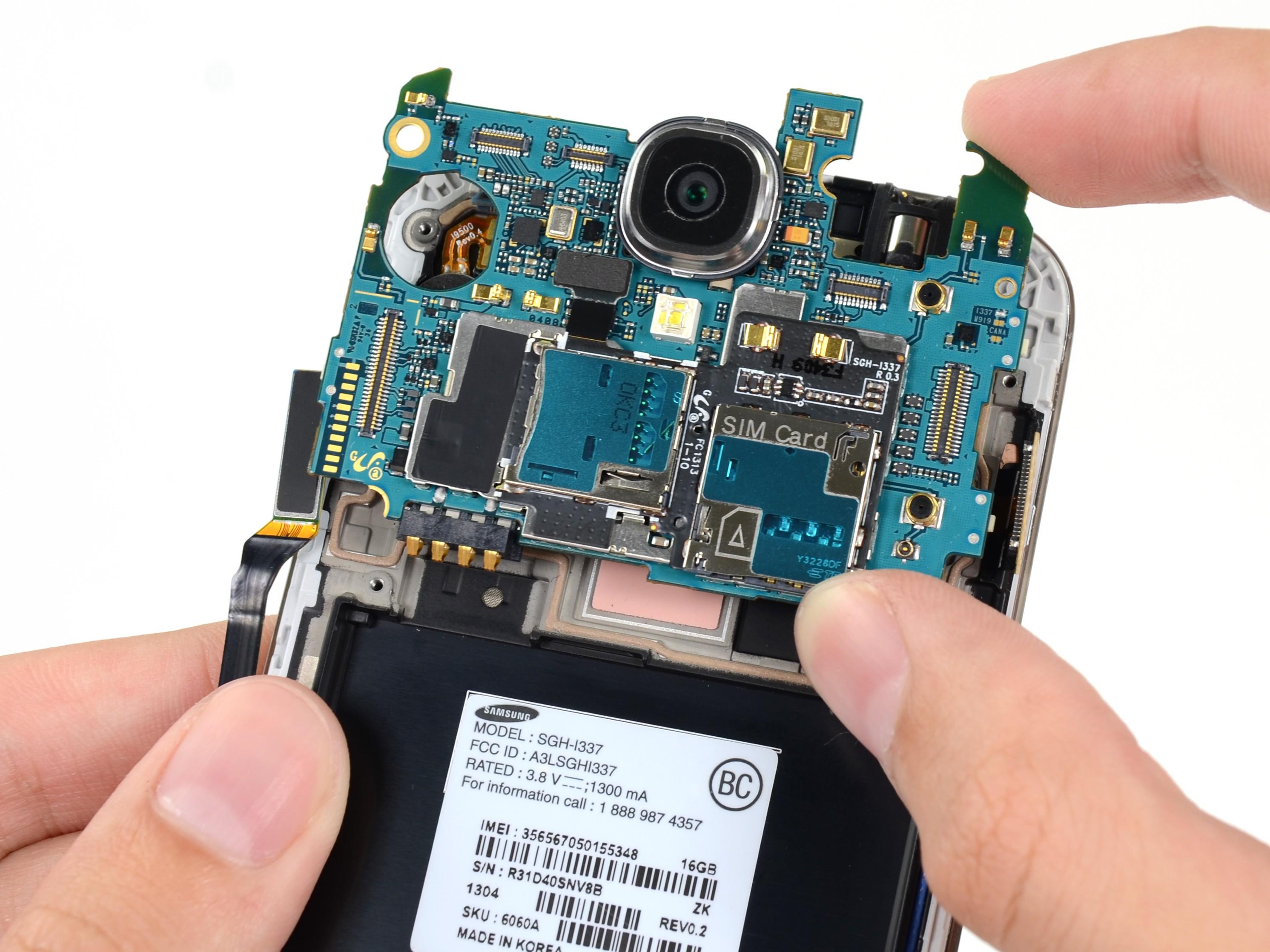 Sửa ic nguồn Samsung S4