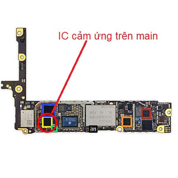 Sửa ic cảm ứng,Hiển thị iPhone 6