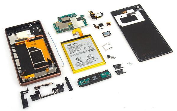 Sửa Ic sóng Sony Z2