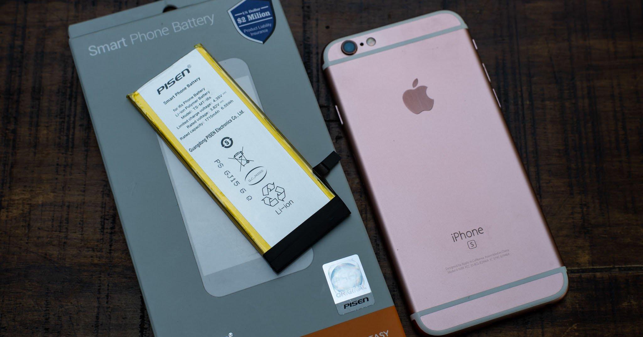 Cận cảnh pin Pisen 'siêu chất lượng' dành tặng 100 chiếc iPhone đầu tiên
