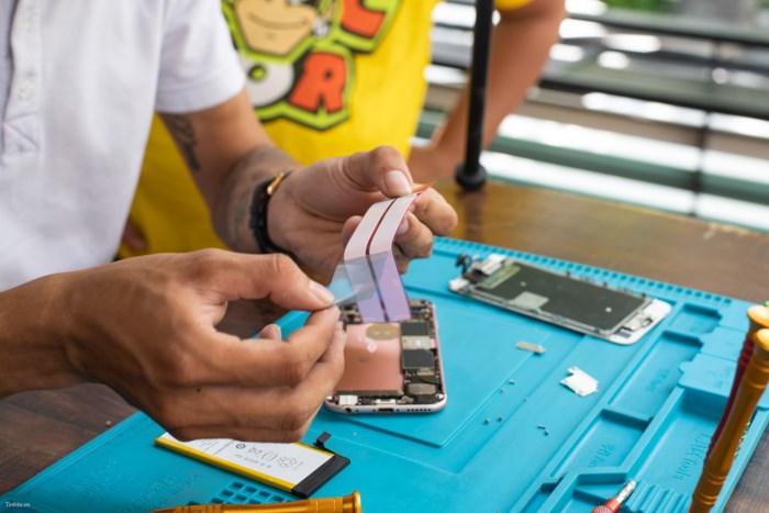 thay pin pisen iphone