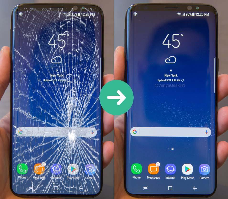 Thay cảm ứng Galaxy S9