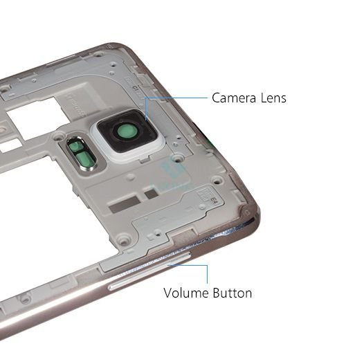 Thay vỏ Galaxy Note 4/ N910A – Viền Benzen
