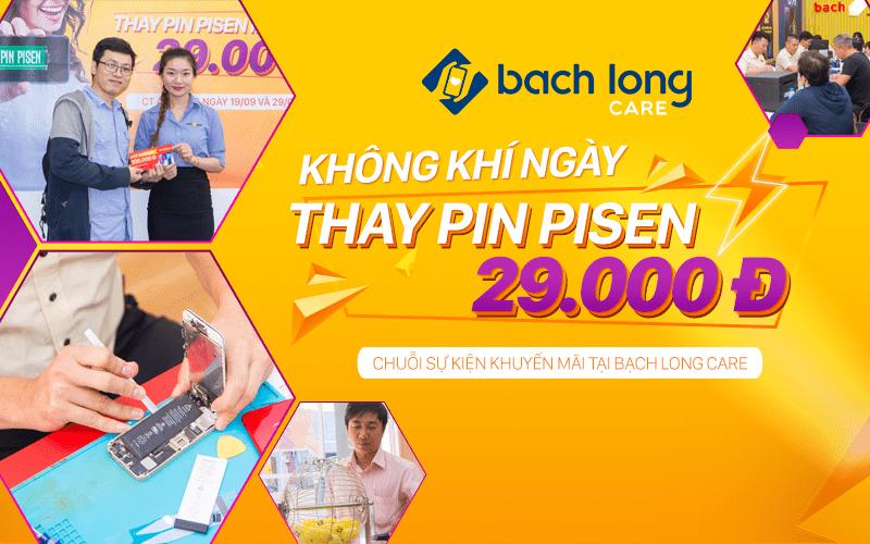 Không khí sôi nổi ngày hội Thay pin Pisen đồng giá 29K tại Bạch Long Care