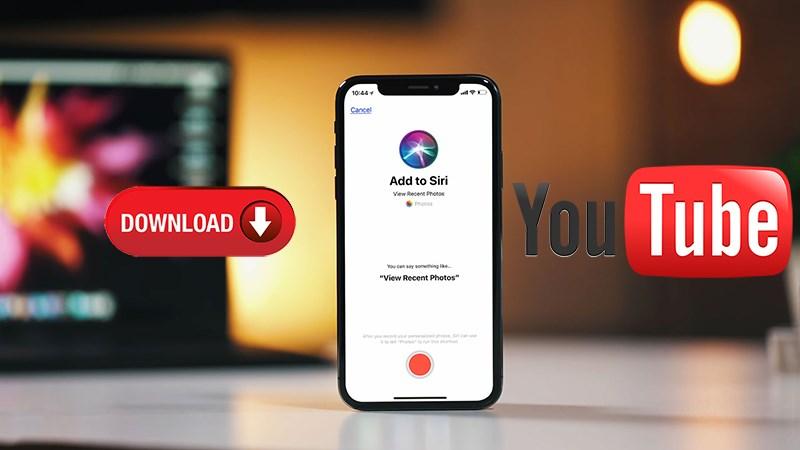 Cách tải video YouTube bằng Siri trên iOS 12