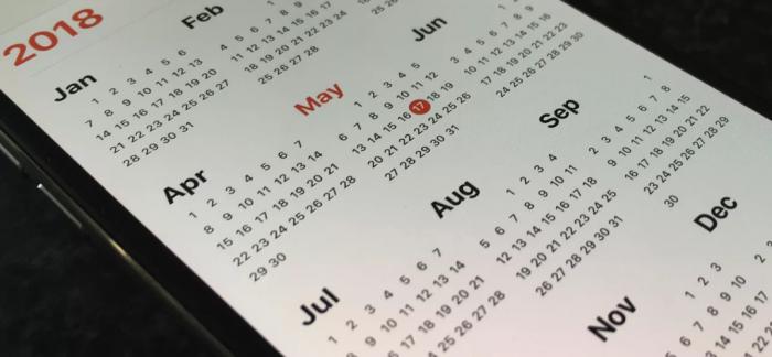 Gợi ý cho bạn các ứng dụng lịch cho iPhone trên iOS 12