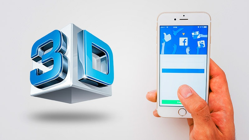 Cách đơn giản nhất để tải ảnh 3D lên Facebook