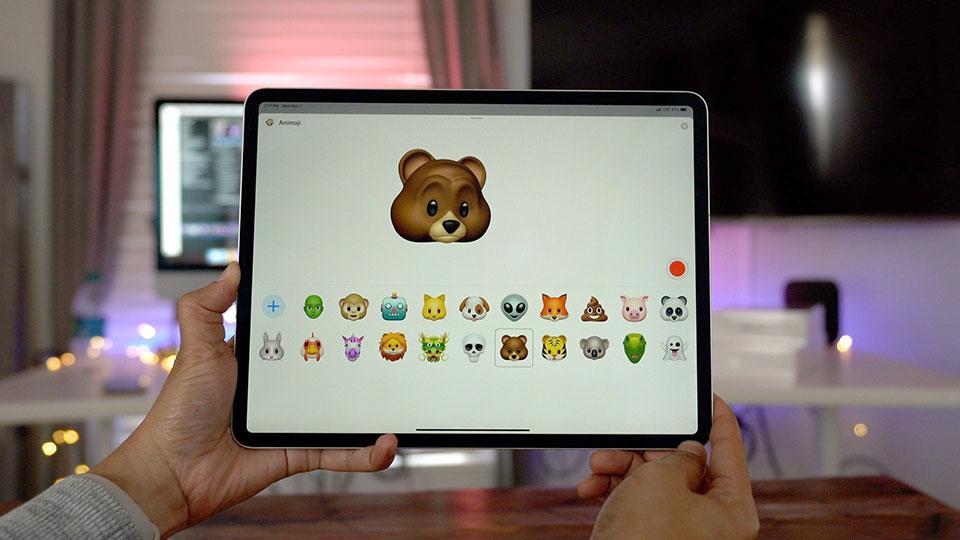 Hướng dẫn tạo Animoji trên iPhone, iPad đời cũ, không Face ID