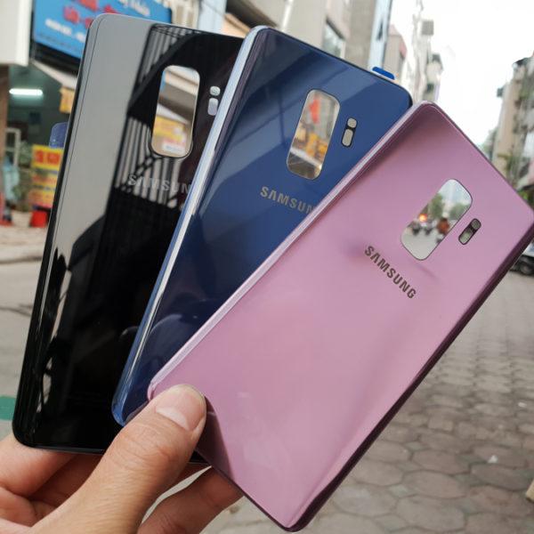 Thay mặt kính lưng Samsung S9 Plus Zin