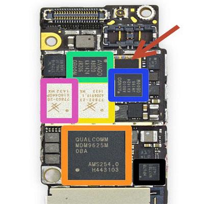 Sửa IC sóng iPhone X