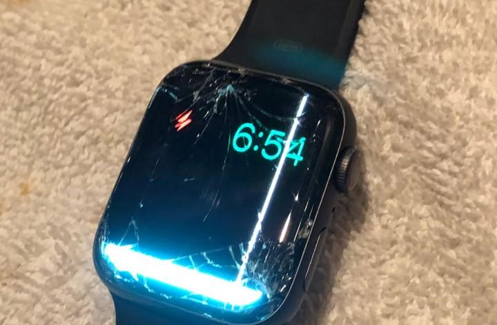 Hình ảnh minh họa màn hình Apple Watch bị hư màn hình