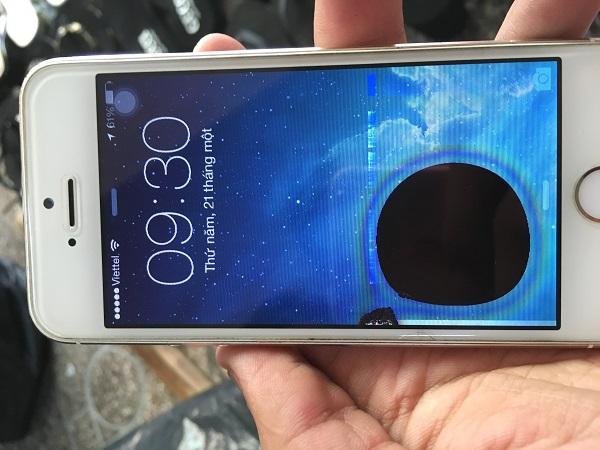 màn hình iphone bị đốm mực