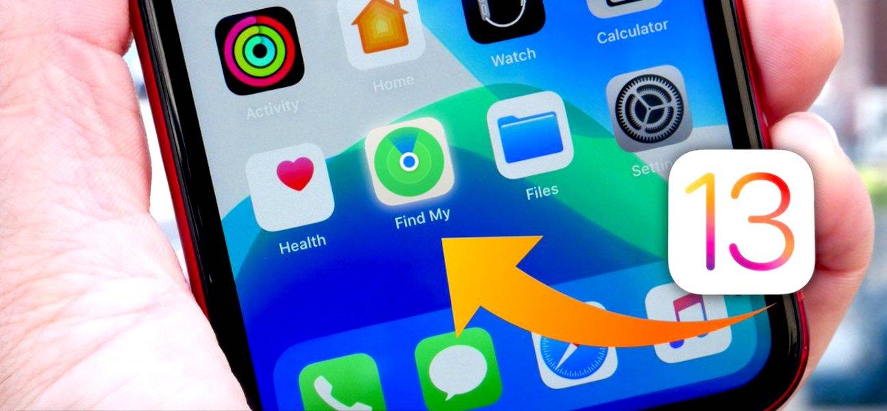 Tìm iDevice iOS 13 bị mất khi thiết bị không trực tuyến