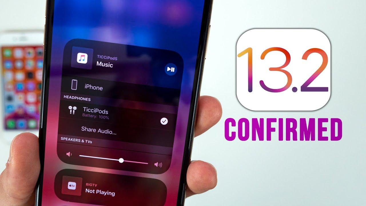 iOS 13.2 ra mắt, sửa hàng loạt lỗi, hỗ trợ Airpods Pro, đây là cách cập nhật