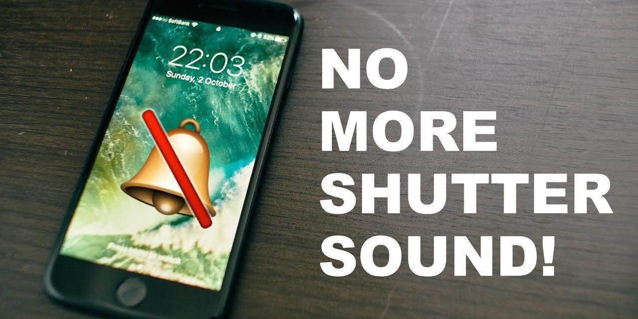 Cách tắt âm khi chụp ảnh trên điện thoại