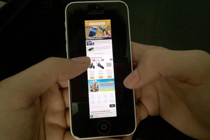 Cách chụp full màn hình trang web trên iPhone