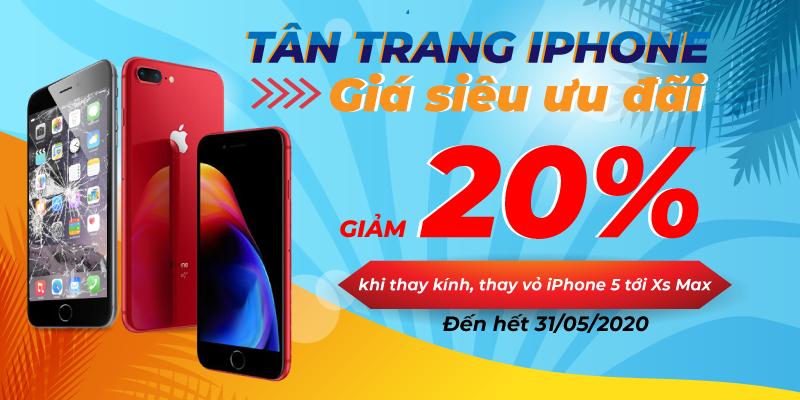 Tân trang iPhone giá siêu ưu đãi