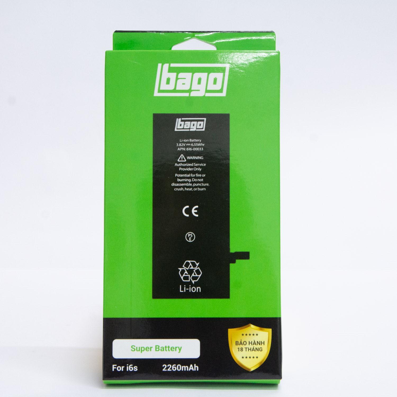 THAY PIN BAGO DUNG LƯỢNG CAO IPHONE 6S (2260 mAh)