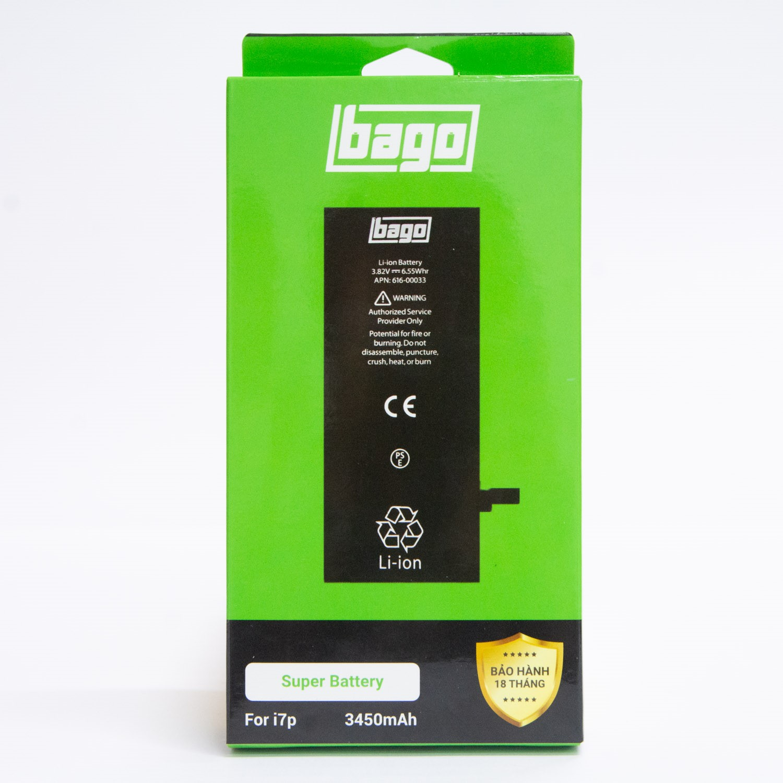 THAY PIN BAGO DUNG LƯỢNG CAO IPHONE 7 PLUS (3450 mAh)