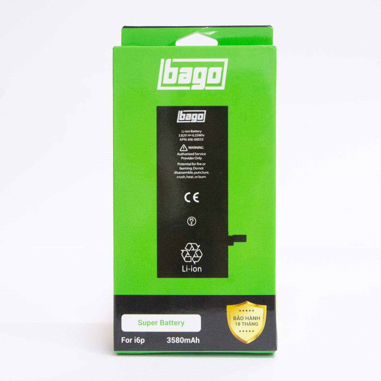 THAY PIN BAGO DUNG LƯỢNG CAO IPHONE 6 PLUS (3580 mAh)