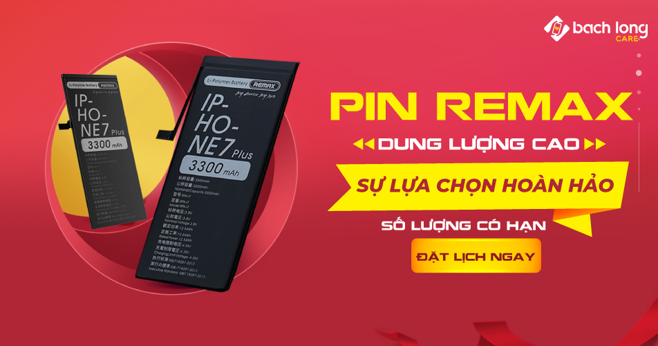 Thay Pin REMAX dung lượng cao – Sự lựa chọn hoàn hảo