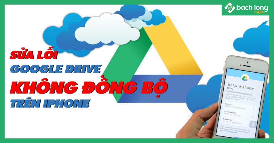 Những cách để sửa lỗi Google Drive không đồng bộ trên iPhone