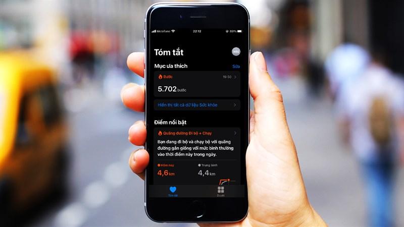 Cách kích hoạt tính năng đếm bước chân trên iPhone kết hợp với Apple Watch