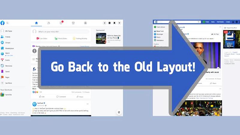Cách để chuyển Facebook về giao diện cũ dành cho những bạn chưa biết