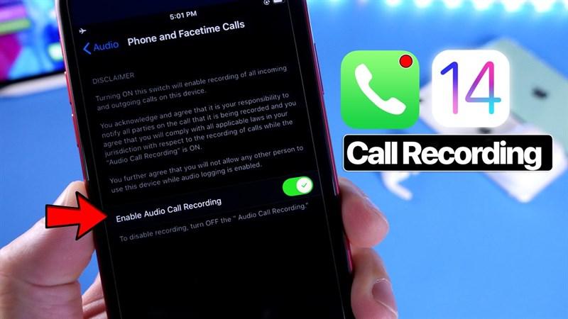 Ghi âm cuộc gọi trên iPhone cực đơn giản cho những ai chưa biết