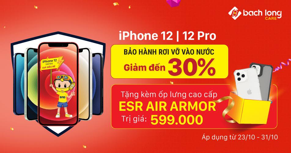 Sắm iPhone 12 | 12 Pro Rơi Vỡ Vào Nước Vẫn Bảo Hành – Còn Tặng Thêm Quà
