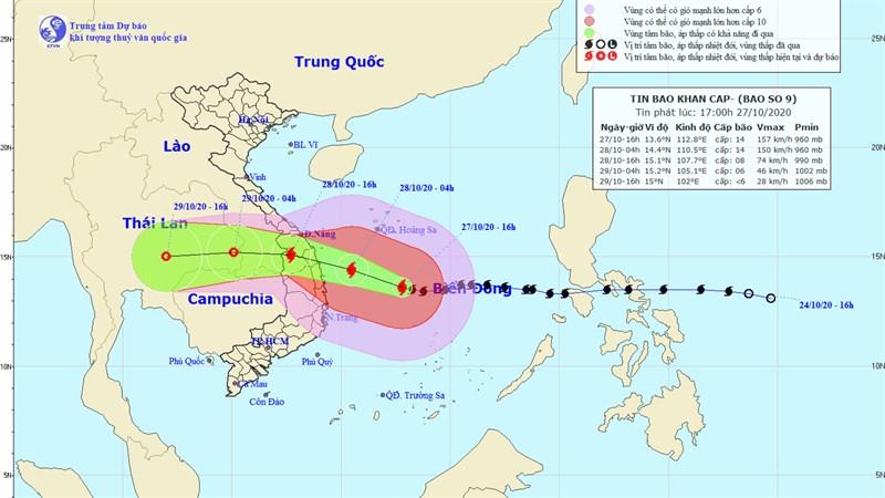 Cách cập nhật thông tin thời tiết chính xác để theo dõi các cơn bão